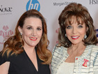 Joan Collins asks 'Who is Sam Bailey?' at Sam Bailey event