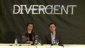 Divergent US press conference: Tony Goldwyn, Ansel Elgort