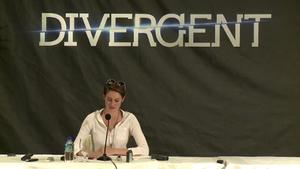 Divergent US press conference: Shailene Woodley