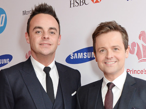 LONDON, ENGLAND - MARCH 12: Anthony McPartlin (L) and Declan Donnelly aka Ant and Dec attend The Prince's Trust & Samsung Celebrate Success Awards at Odeon Leicester Square on March 12, 2014 in London, England. (Photo by David M. Benett/Getty Images)