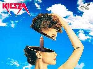 Keisza 'Hideaway' single artwork