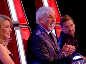 The coaches on The Voice