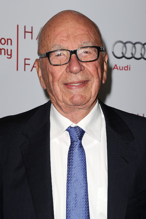 BEVERLY HILLS, CA - MARCH 11: Rupert Murdoch attends the Television Academy's 23rd Hall of Fame induction gala at Regent Beverly Wilshire Hotel on March 11, 2014 in Beverly Hills, California. (Photo by Jason LaVeris/FilmMagic)
