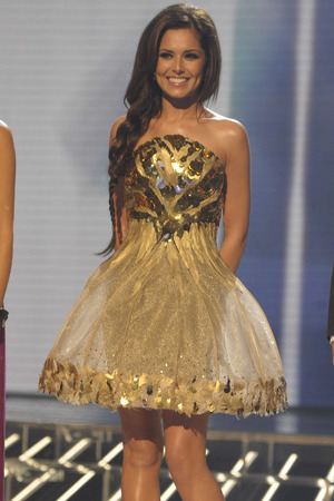 The X Factor TV Programme, London, Britain - 17 Oct 2009 Cheryl Cole 17 Oct 2009 versace