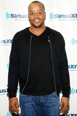 NEW YORK, NY - FEBRUARY 19: Actor Donald Faison visits at SiriusXM Studios on February 19, 2014 in New York City. (Photo by Ben Gabbe/Getty Images)