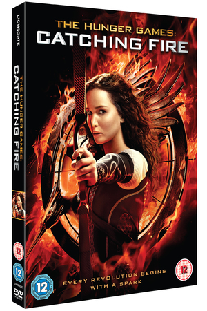 The Hunger Games: Catching Fire DVD cover