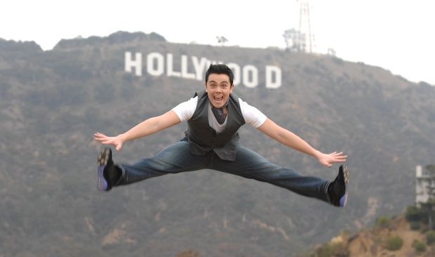 Ray Quinn, 'X Factor' runner up, out and about in Los Angeles, America - 30 Jan 2007 Ray Quinn under the Hollywood sign