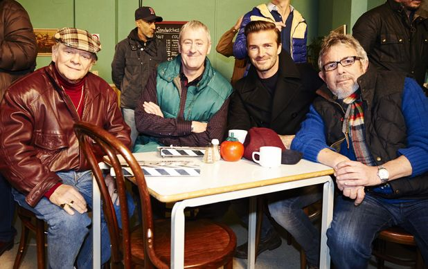 David Beckham joins David Jason & Nicholas Lyndhurst for a special Only Fools & Horses Sport Relief sketch