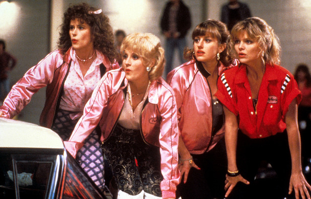 Maureen Teefy, Lorna Luft, Alison Price & Michelle Pfeiffer in Grease 2 (1982)