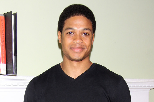 Ray Fisher at the 'Fetch Clay, Make Man' cast and crew meet and greet at the New York Theatre Workshop