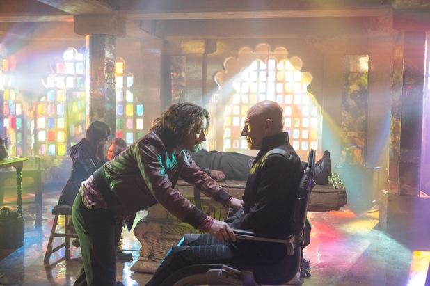 James McAvoy Patrick Stewart X-Men Days of Future Past