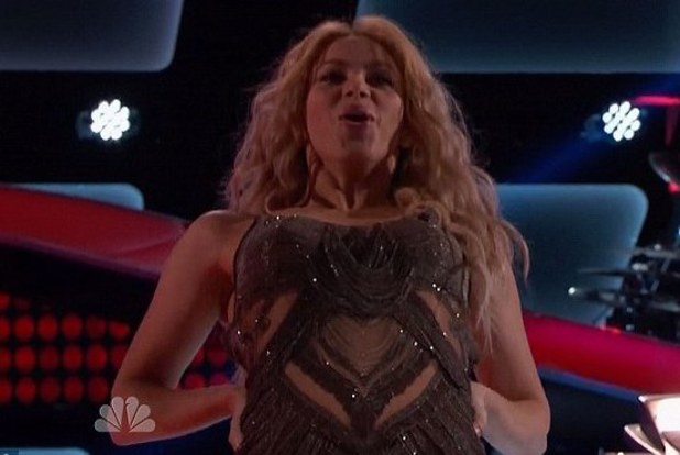 Shakira, the voice Voice Blind Auditions #5