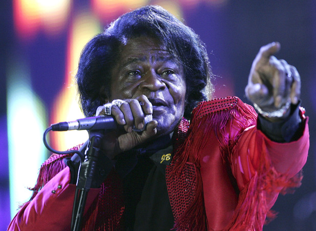 James Brown performing in Edinburgh in 2005