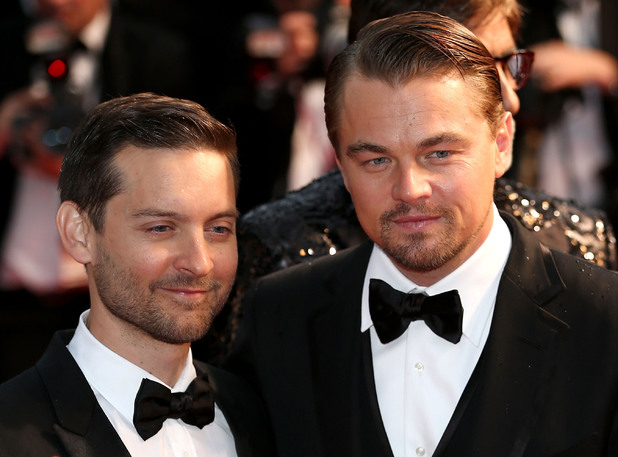 Tobey Maguire and Leonardo DiCaprio attend the Opening Ceremony and premiere of 'The Great Gatsby' during the 66th Annual Cannes Film Festival