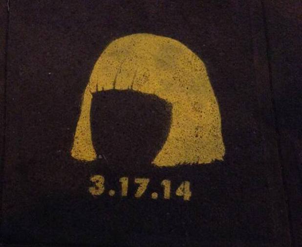 Sia new album teaser poster.