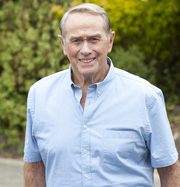 Terence Donovan as Doug Willis in Neighbours