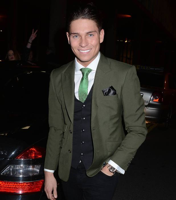 Joey Essex arrives at RTE studios for 'The Late Late Show'