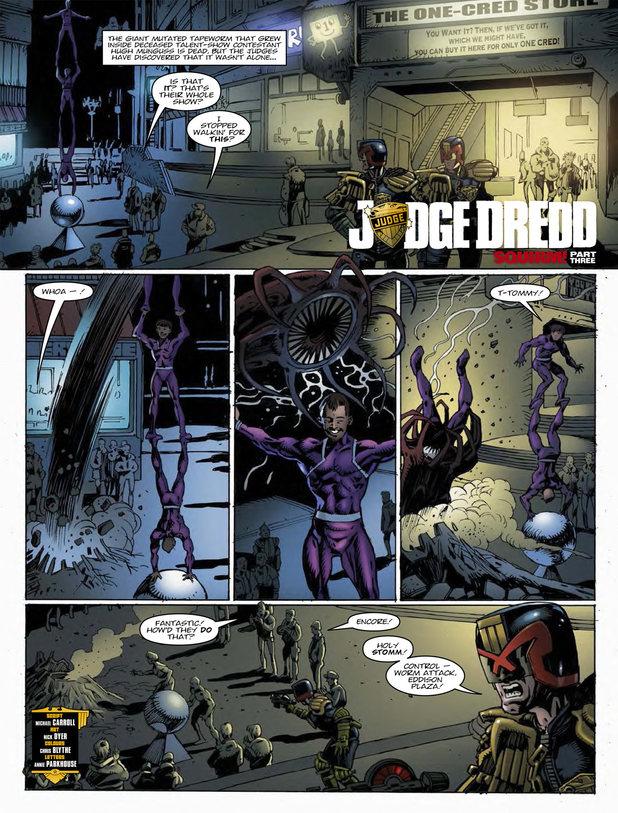 Judge Dredd - Squirm!