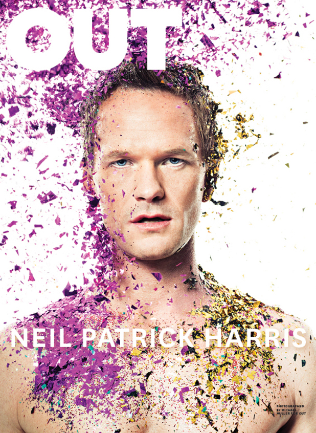 Neil Patrick Harris Out magazine cover