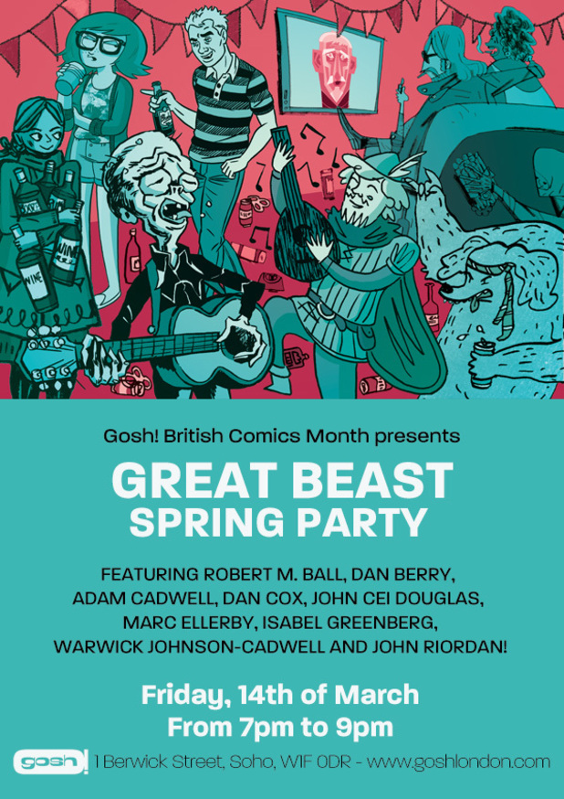 Great Beast Spring Party poster