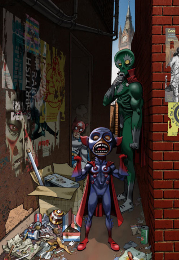 Jamie Hewlett's Comics Unmasked