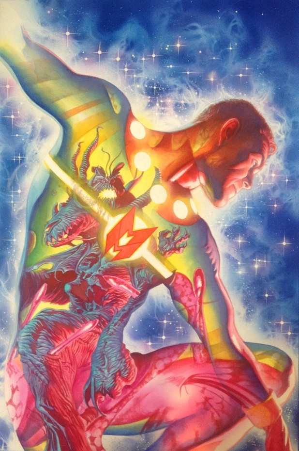 Alex Ross covers Miracleman #5