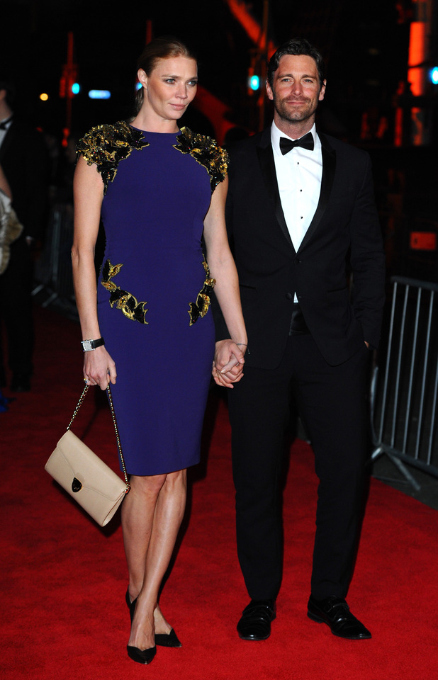 Jodie Kidd and David Blakeley attend the 2014 British Academy Games Awards
