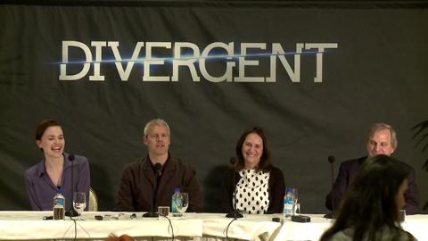 Divergent US press conference: The filmmakers