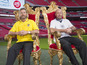 Shearer, Savage begin Sport Relief task