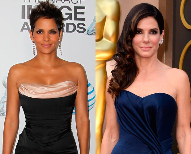 Sandra Bullock and Halle Berry