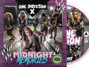 One Direction Record Store Day 'Midnight Memories' vinyl.