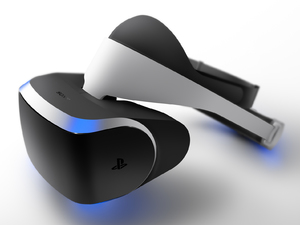 PS4 VR headset Project Morpheus prototype