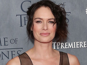 Lena Headey attends the Game of Thrones season 4 premiere at the Lincoln Center, New York