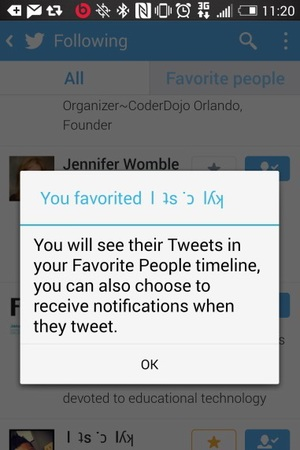 Twitter is trialling a 'Fave People' feature