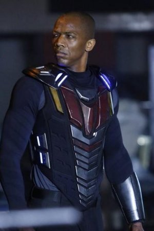 J August Richards as Deathlok in Marvel's Agents of S.H.I.E.L.D S01E16: 'End Of The Beginning'