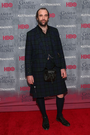 Rory McCann attends the Game of Thrones season 4 premiere at the Lincoln Center, New York