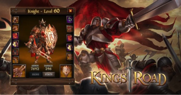 Yahoo Games title KingsRoad