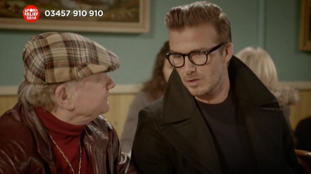 David Beckham makes Only Fools and Horses cameo