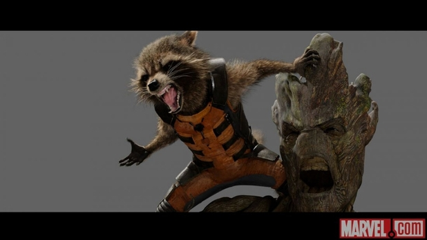 Concept artwork for Guardians Of The Galaxy