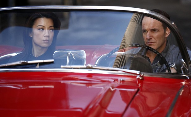 Ming-Na Wen & Clark Gregg in Agents of S.H.I.E.L.D: 'Seeds'
