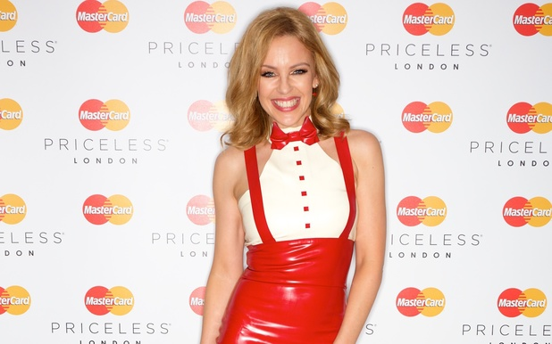 Kylie Minogue's MasterCard Priceless gig at Bloomsbury Ballroom, London