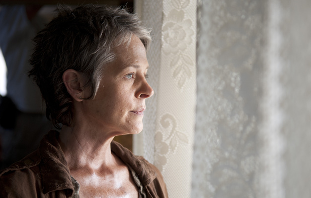 Melissa Suzanne McBride as Carol in The Walking Dead: 'The Grove'