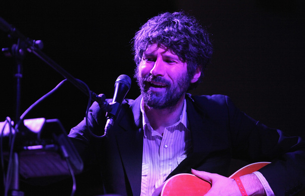 Gruff Rhys performs onstage at Turnstile during the 2014 SXSW Music, Film + Interactive at St. Davids Sanctuary