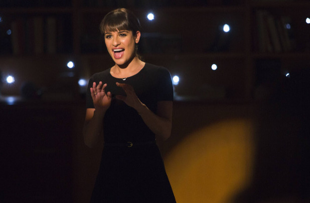 Lea Michele as Rachel in Glee: '100'