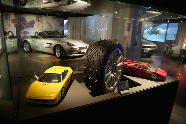 Bond in Motion exhibition at the London Film Museum