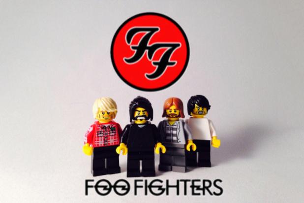 LEGO Foo Fighters