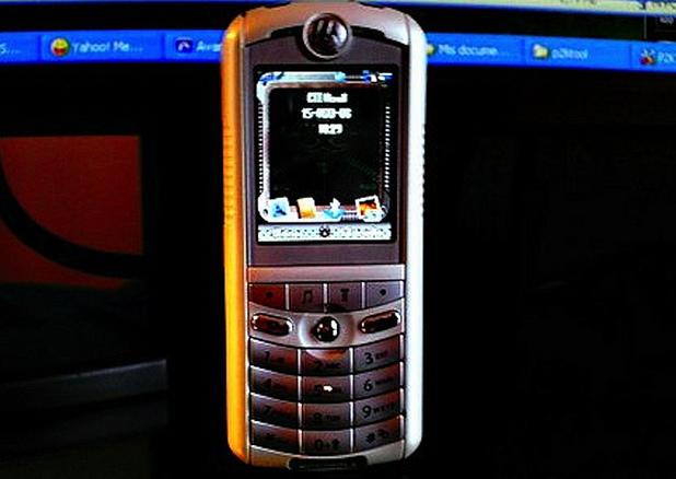 Motorola ROKR E1 phone