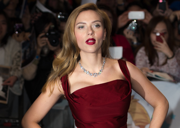 LONDON, ENGLAND - MARCH 20: Scarlett Johansson attend the UK Film Premiere of 'Captain America: The Winter Soldier' at Westfield London on March 20, 2014 in London, England. (Photo by Ian Gavan/Getty Images)