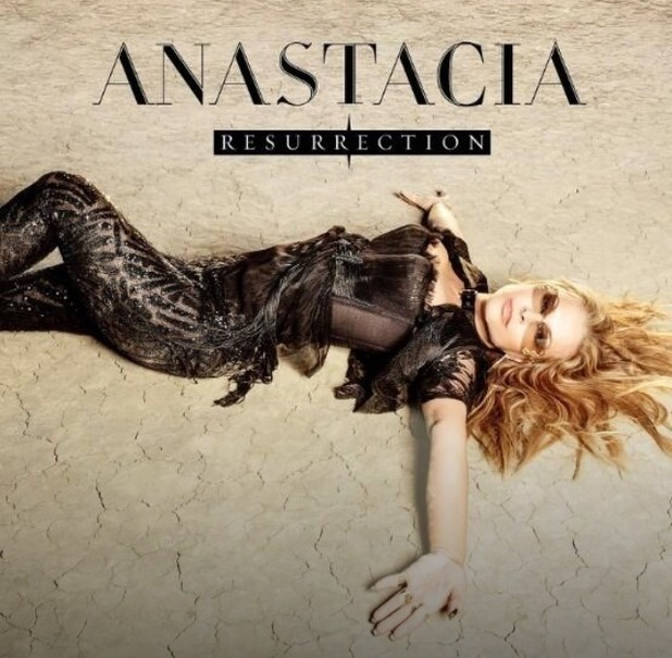 Anastacia's album artwork for Resurrection