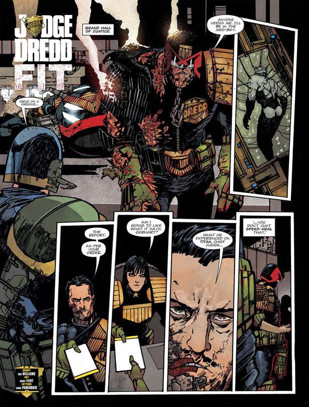 Judge Dredd - Fit